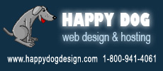 Happy Dog Web Design and Hosting